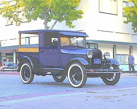 Randall Thomas Stone - Blue 1930 Ford Truck