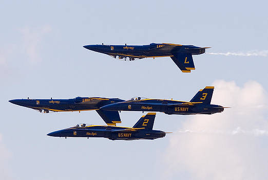 Blue Angels by Zannie B