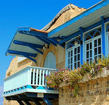 Blue Balcony by Amr Miqdadi