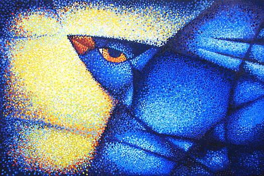 Blue Bird by Alena Nikifarava