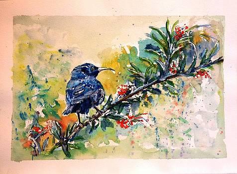 Blue Bird by Baruch Neria-Kandel
