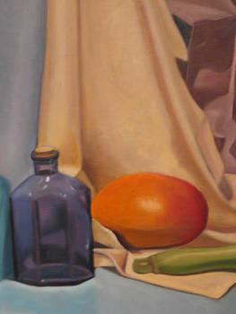 Blue Bottle by Cynthia Mozingo