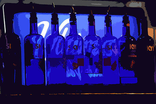 Blue Bottles by Peter  McIntosh