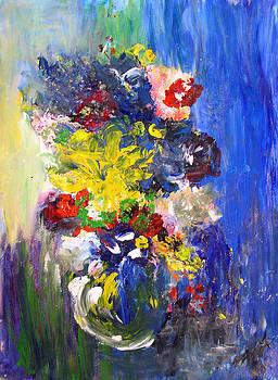 Tonya Schultz - Blue Bouquet