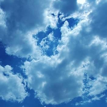 Blue Breaking Through by Alison Richardson-Douglas