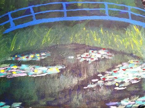 Blue Bridge  by David Stich