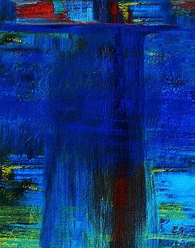 Blue Brush by Eddie Glass