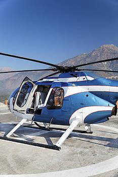 Kantilal Patel - Blue Chopper