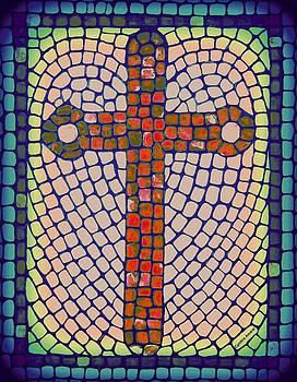 Blue Cross by Cynthia Amaral