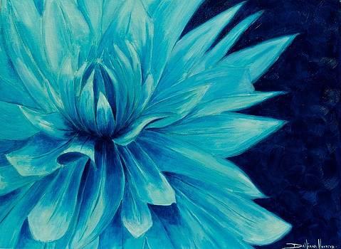 Blue by Dahiana Herrera