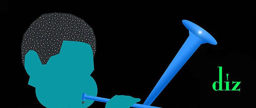Blue Diz by Victor Bailey