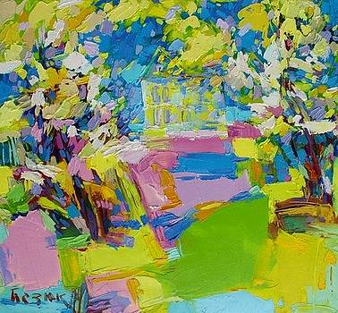 Blue dreams of the past by Oleh Bezyuk