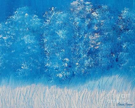 Blue Fantasy by Lorraine Louwerse