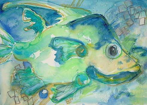 Blue Fish by Rachel Dutton