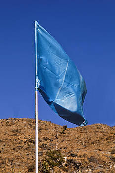 Kantilal Patel - Blue Flag