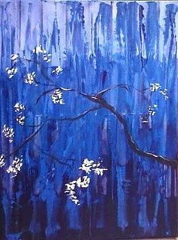 Blue Forest by Priya  Yavluri