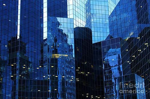 Blue Fortress by Bernard MICHEL