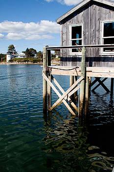 Blue Hill Maine Cove  by Sandi Blood