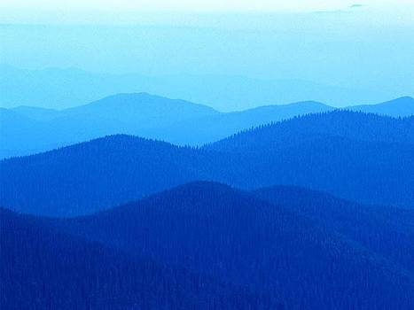 Blue Hills by Jack Gledhill