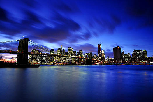Blue Hour by Valerio Pinna