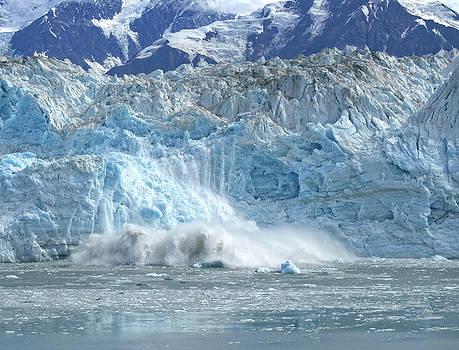 Diana Cox - Blue Ice Calving