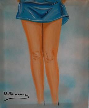 Blue by Jose Luis Villagran Ortiz