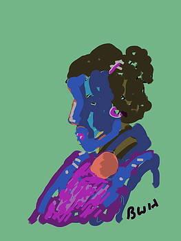 Blue Lady by Bettye  Harwell