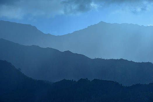 Blue Layers by Hegde Photos