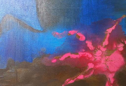 Blue ll by Kristy Dunn