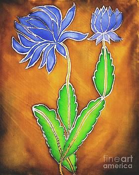 Blue Marigold by Dye n  Design