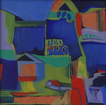 Blue Night by Noel Sandino