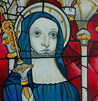 Blue Nun by Joan Pollak