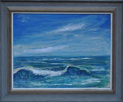 Blue Oceanic Seascape by ONeill