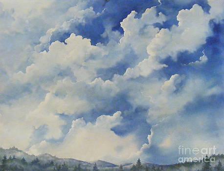 Blue Ridge Vista...SOLD  by Sandy Brindle