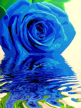 Blue Rose by Amy Bradley