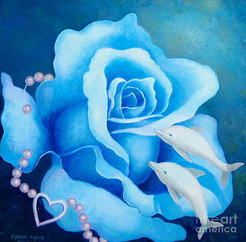 Blue Rose by Edoen Kang