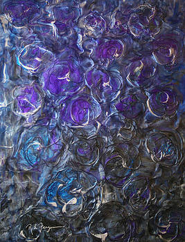 Blue Roses by Roger Ferguson