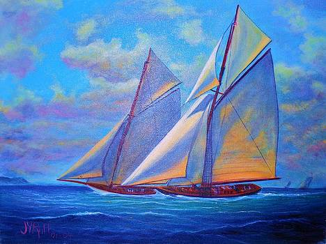 Blue Sails by Joseph   Ruff
