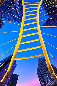 Blue Sky 1 by Subpong Ittitanakul