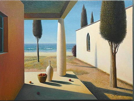 Blue Sky Evening by Evgeni Gordiets