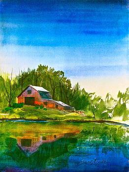 Frank SantAgata - Blue Sky River