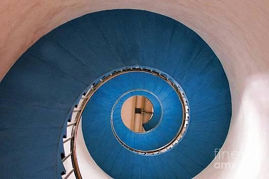 Blue spiral by Anne Seltmann