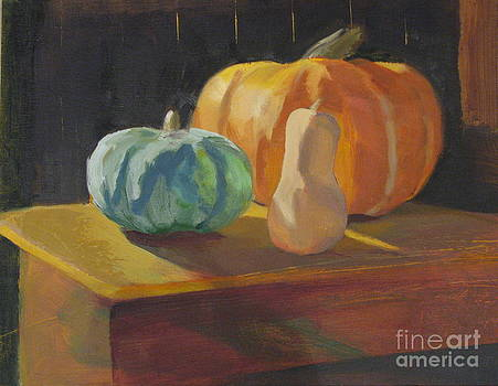 Blue Squash by Candi Edmondson