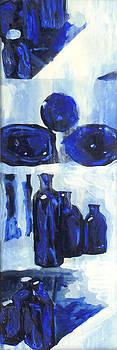 Blue Still Life by Hatin Josee