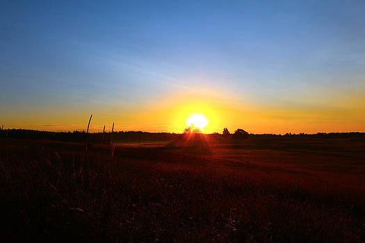 Blue Sunrise by Robbie Basquez
