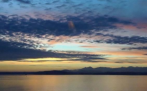 Blue Sunset by Ami Tirana