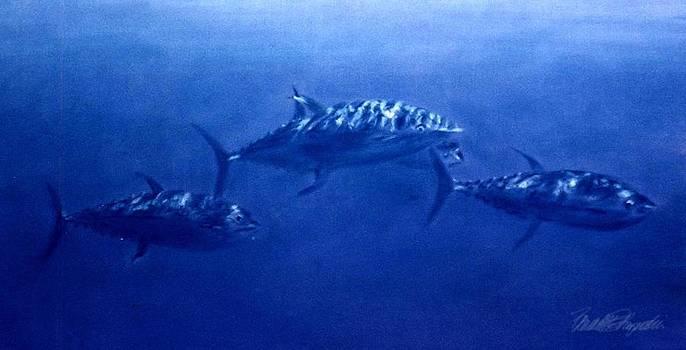 Blue Tuna by Bernadette Kazmarski
