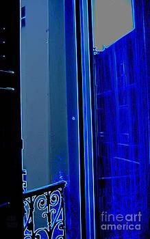 Blue Window in Paris by Leela Arnet