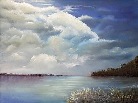 Blue yonder by Evon Du Toit