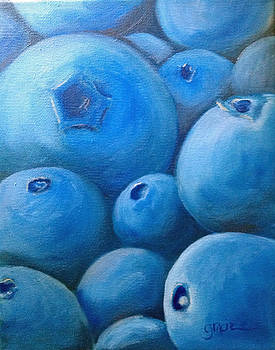 Blueberries by Gracie Hampton